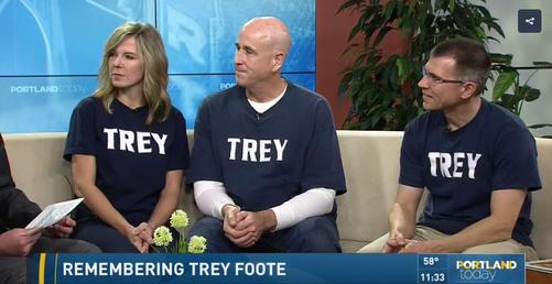 Portland Today – Trey Foote Foundation