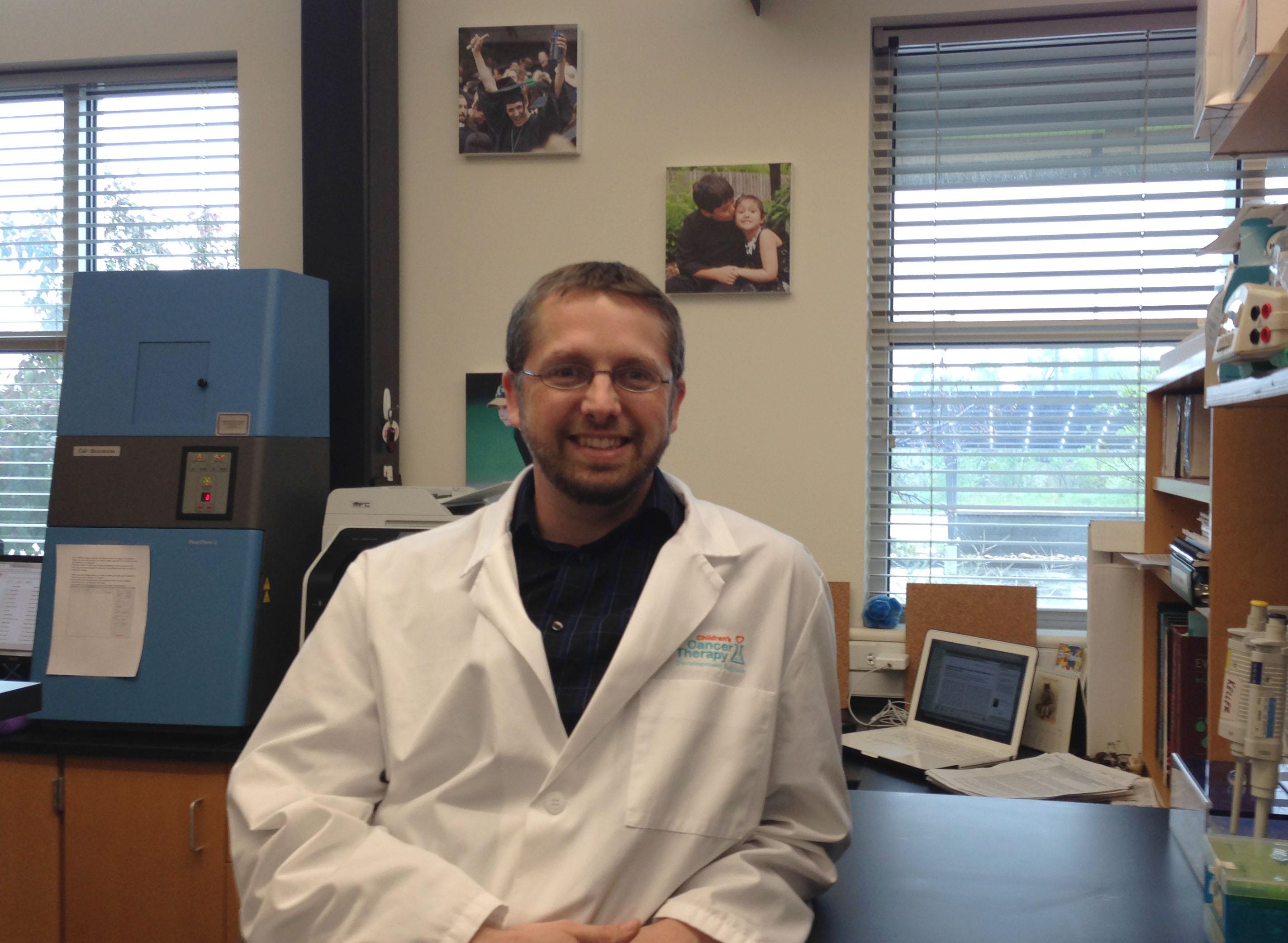 Matt, our newest muscle stem cell biologist